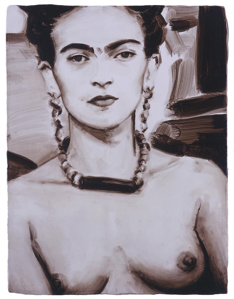 Frida (Frida Kahlo) by Elizabeth Peyton, 2005.