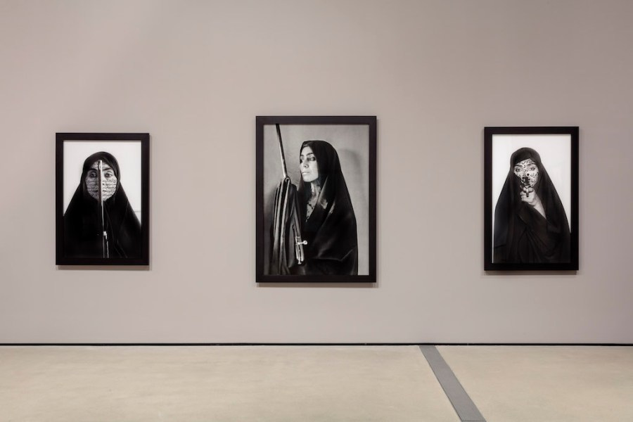 Shirin Neshat Women of Allah series. Neshat's I Will See The Sun Again, at The Broad Los Angeles, is reviewed at Riot Material.