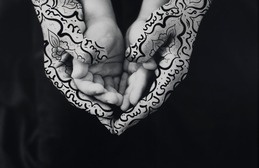 """Shirin Neshat, """"Bonding"""" (1995). Neshat's I Will See The Sun Again, at The Broad Los Angeles, is reviewed at Riot Material."""