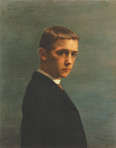 Félix Vallotton: Self-Portrait at the Age of Twenty, 1885