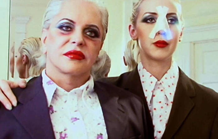 Genesis P-Orridge and her wife, Lady Jaye