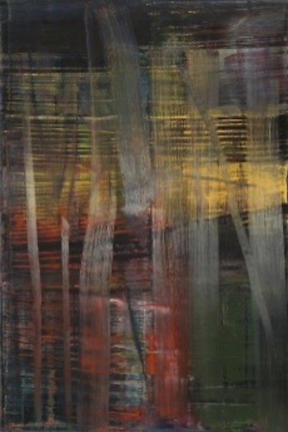 Gerhard Richter, Forest (4) 2005, at Riot Material