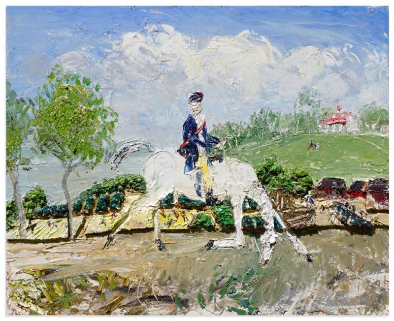 John Bradford, Washington Returns to Mount Vernon