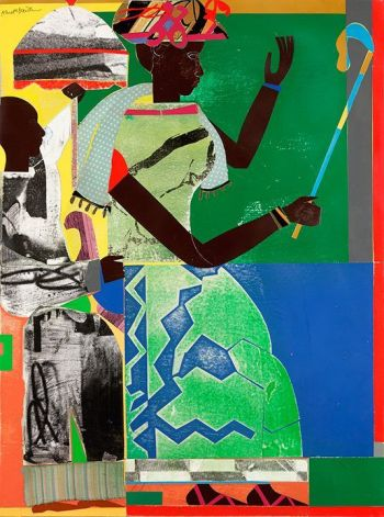 "She-Ba (1970). Two books on Romare Bearden, ""An American Odyssey: The Life and Work of Romare Bearden"" and ""The Romare Bearden Reader"" are reviewed at Riot Material Magazine"