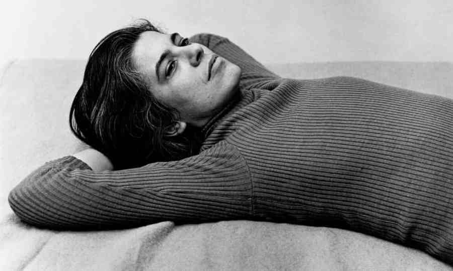Susan Sontag in 1975. A review of Sontag: Here Life and Work is at Riot Material