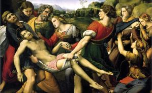A review of the Raphael exhibition Raffaello 1520–1483, in Rome, Italy, is at Riot Material