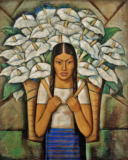 Alfredo Ramos Martínez Calla Lily Vendor, 1929