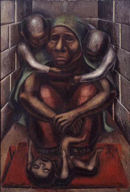 David Alfaro Siqueiros Proletarian Mother, 1929