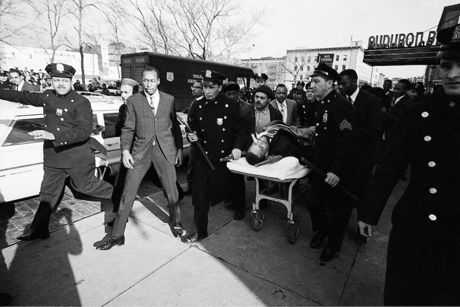 The assassination of Malcolm X.