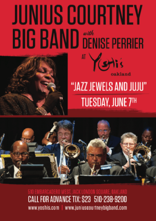 Eric Swinderman to join Big Band Concert at Yoshi's