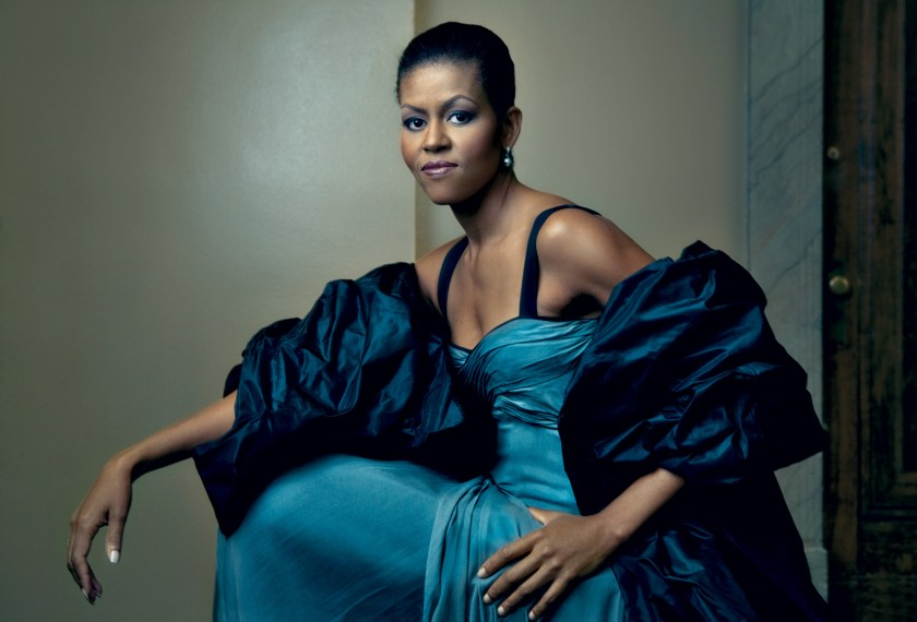 Vogue shows Michele Obama's outer beauty - her speech shows her inner beauty as a mother and leader.