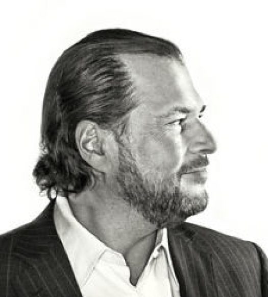 Marc Benioff, CEO of Salesforce - a values-based leader