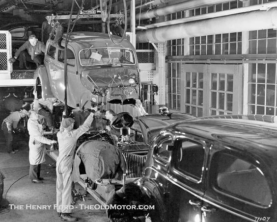 Car Manufacturing Plan in 1939