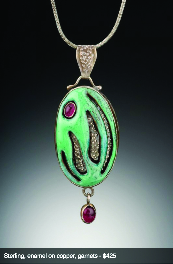 Mill Valley Artists Sudha Irwin creates timeless pieces of art to wear.