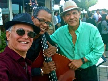 Rolando Morales, Gary Brown and Danilo Paiz