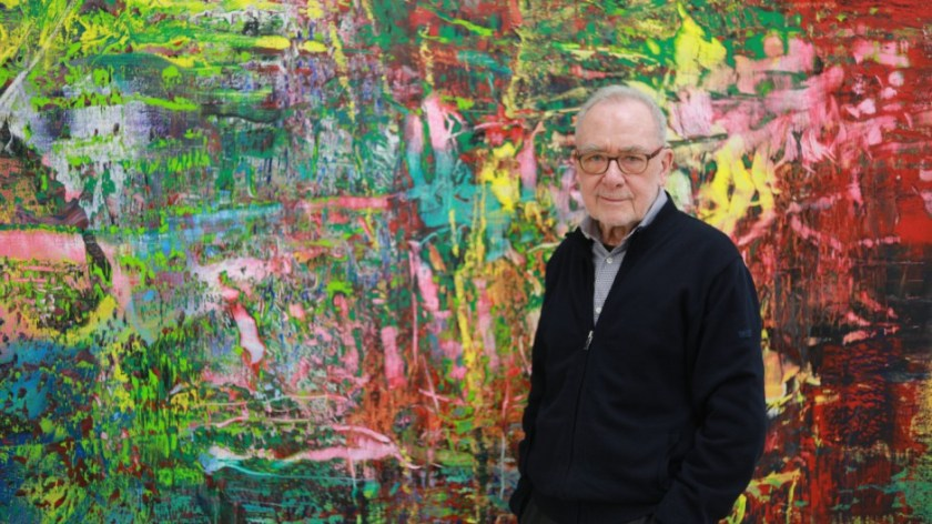 Gerhard Richter at 85