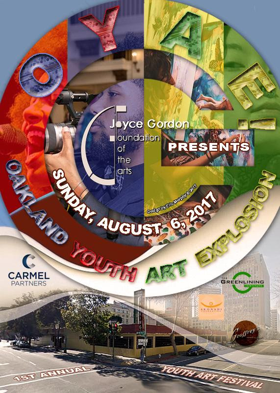 Save the Date for Joyce Gordon Gallery's upcoming event: Oakland Youth Art Explosion!