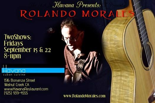 Havana Club will feature Rolando Morales