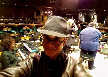 Rolando Morales set up at Yoshi's Performance