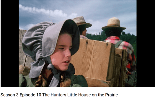 The Hunters Little House on the Prairie