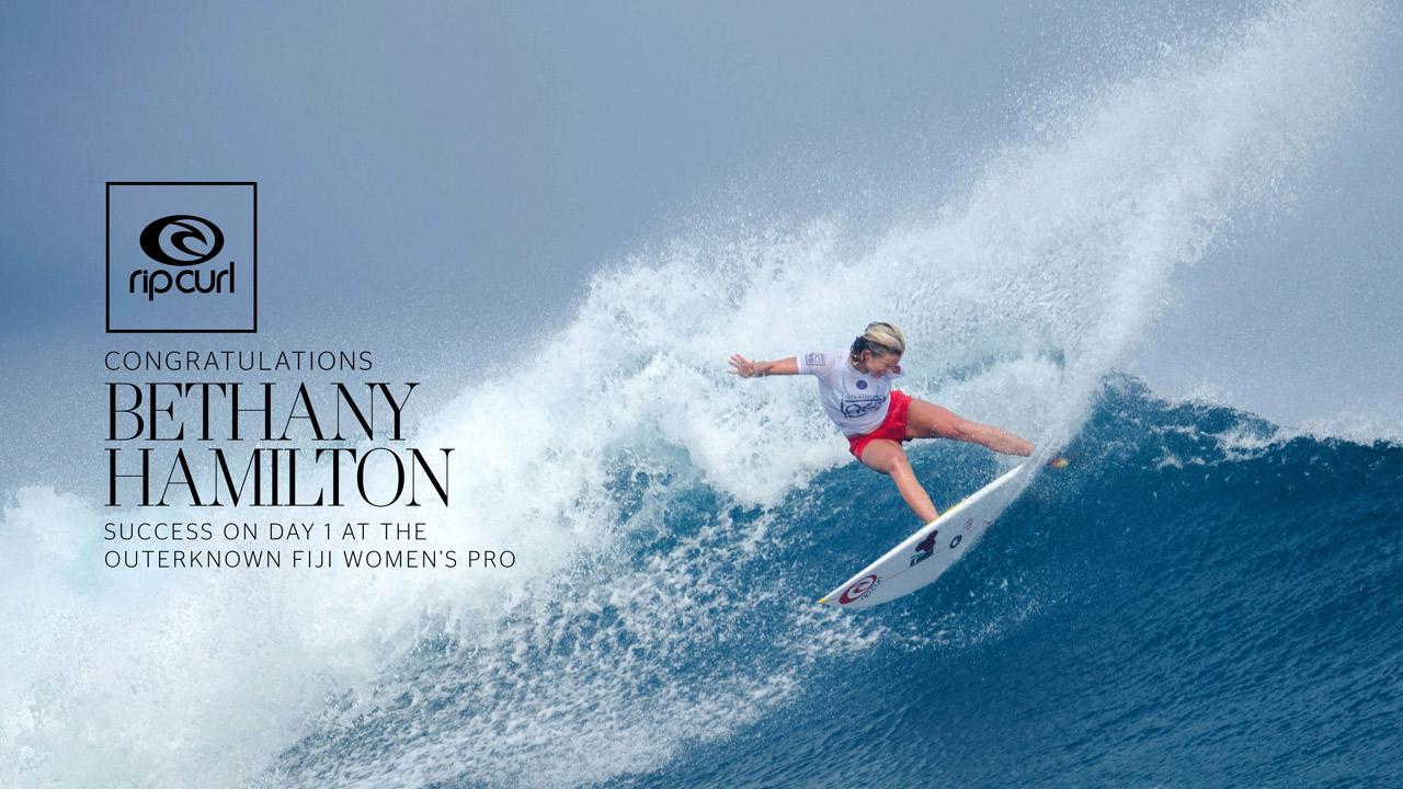 Rip Curl Girl Wallpaper Bethany Hamilton Makes Bold Moves At The Ok Fiji Pro Rip
