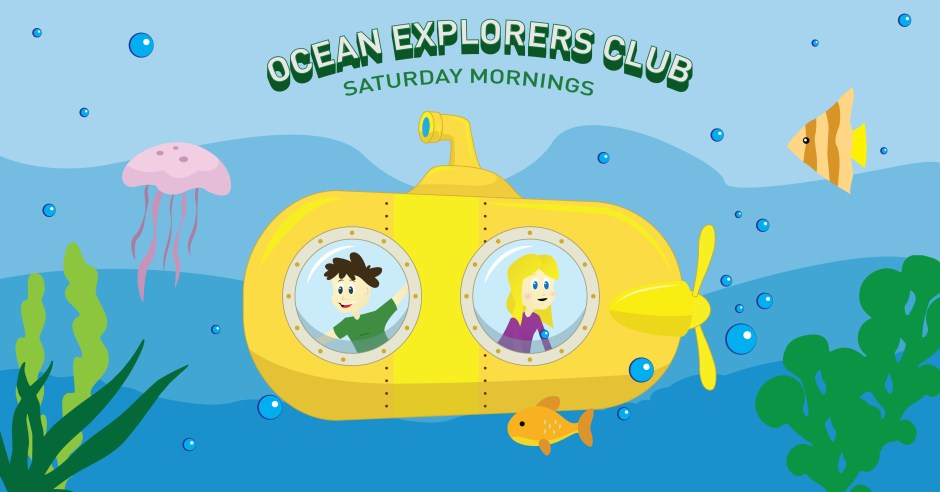 Ocean Explorers CLub Header Graphic