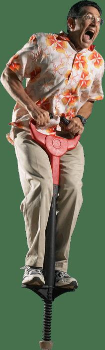 Pogo-stick-Guy