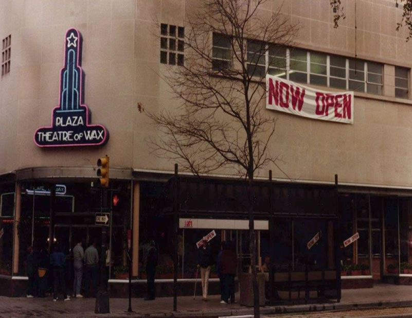 Palace of Wax 30 years ago.