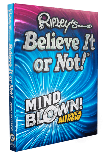 Cover of Ripley's Believe It or Not! Mind Blown