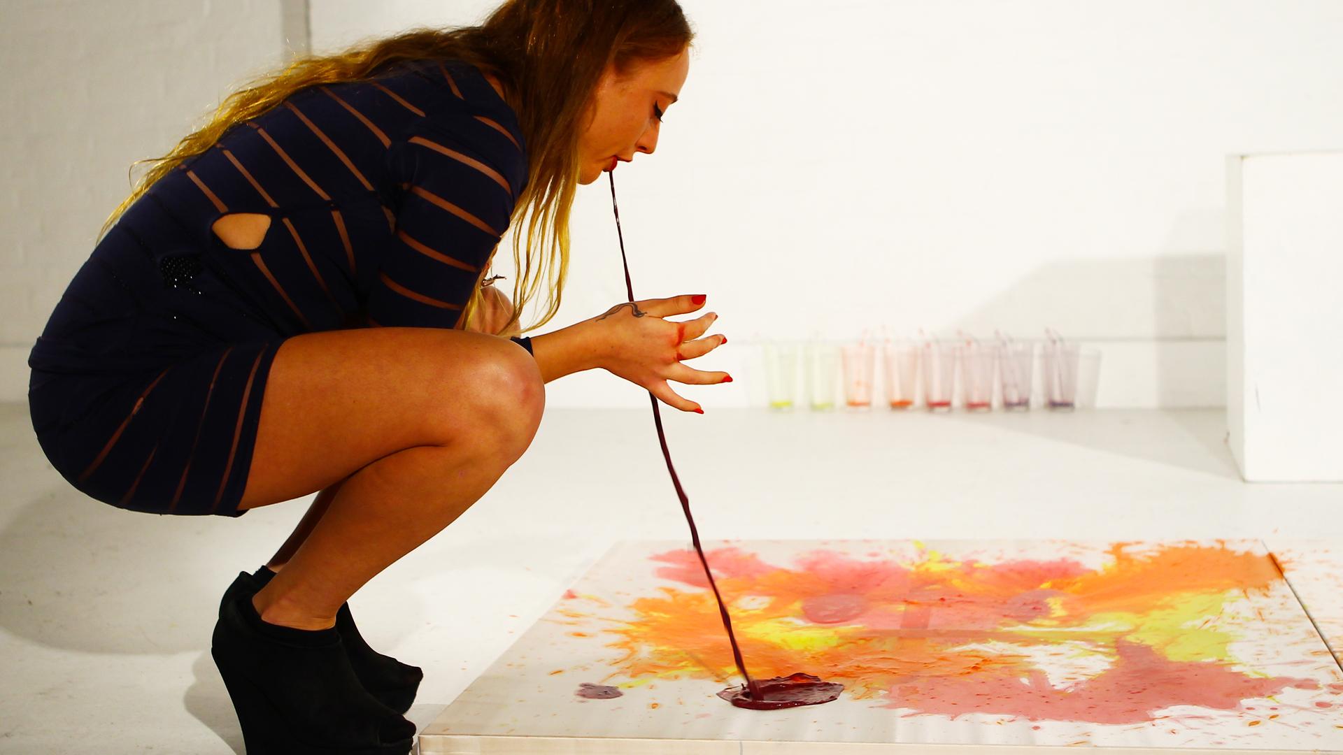 Millie Brown Vomit Artist Featured In Ripleys