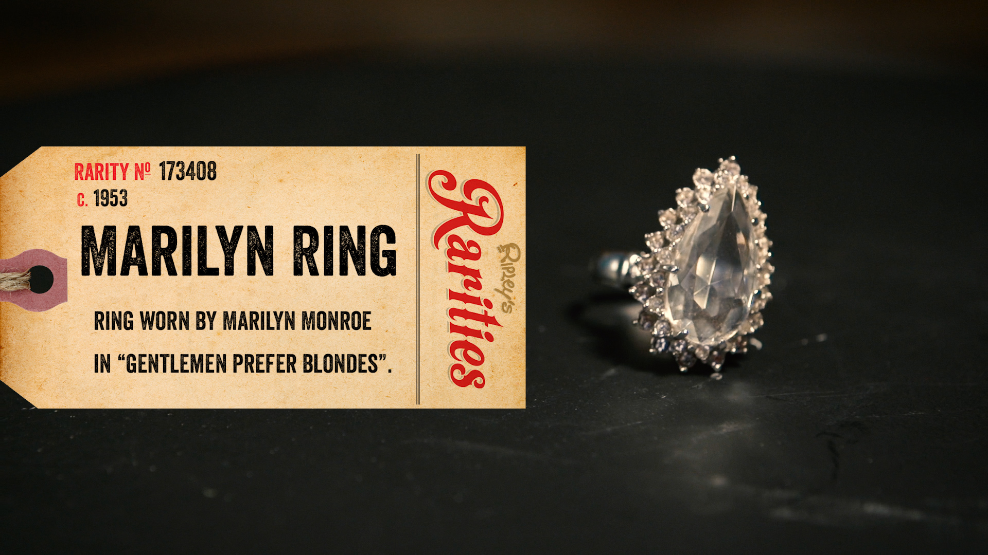 Marilyn Monroes Ring From Gentlemen Prefer Blondes