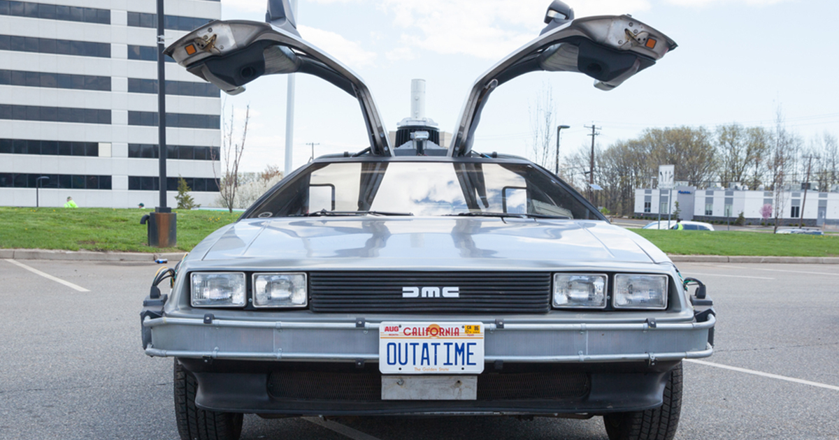 The First DMC DeLorean Rolled Off the Assembly Line 40 Years Ago