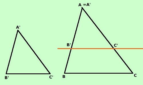 Terzo Criterio Di Similitudine Fra Triangoli