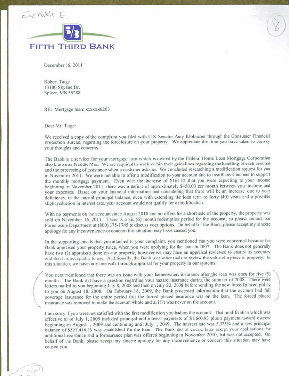 Ripoff Report  FIFTH THIRD BANK MORTGAGE Complaint Review CINCINATIO Ohio