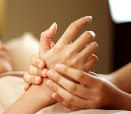ontspannende massage hand Turnhout