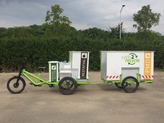 RIPPL #21: Waalre: Waste collection by e-trike and trailer