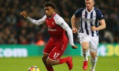 Iwobi starts in Arsenal's draw at West Brom