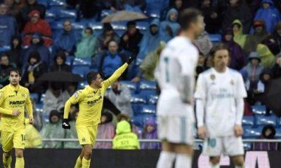 Late Villarreal goal stun Real Madrid