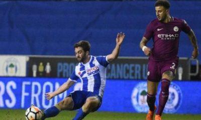Guardiola congratulates Wigan after third-tier side stun City in FA Cup