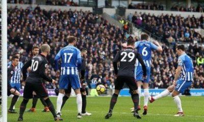 Iwobi starts in Arsenal's defeat at Brighton