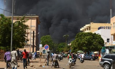 BURKINA FASO: Army hqtrs, French embassy under heavy attack by terrorists