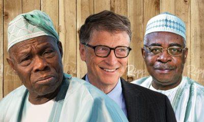 How Gates, Obasanjo, Danjuma, North delivered a bad week to Buhari