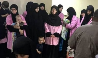 Iranian court jails 19 Russian women for life for joining ISIS