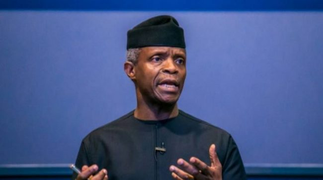 The aspects of restructuring I agree with –Osinbajo