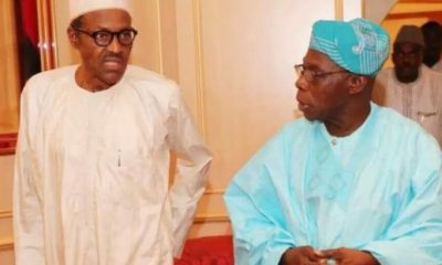 Buhari hits back at OBJ, wants him to answer for $16bn spent on power projects