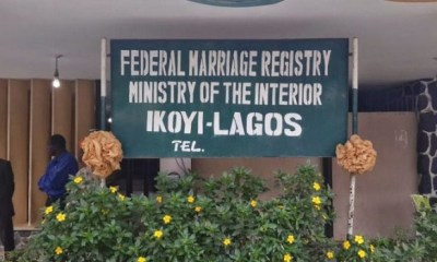 FG disagrees with Lagos, says only Ikoyi registry marriage certificates valid