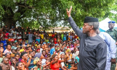 'It's our duty as govt to make sure everyone is safe to do their work in peace and comfort'— Osinbajo in Nasarawa