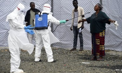 First batch of Ebola vaccines arrive DRC