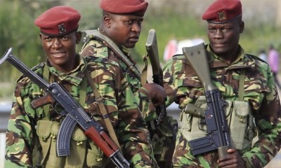 KENYA: 5 policemen feared dead in bomb attack
