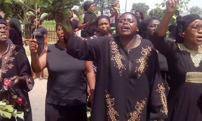 PROTEST: Gov Lalong talks touch as govt officials escape death by the whiskers